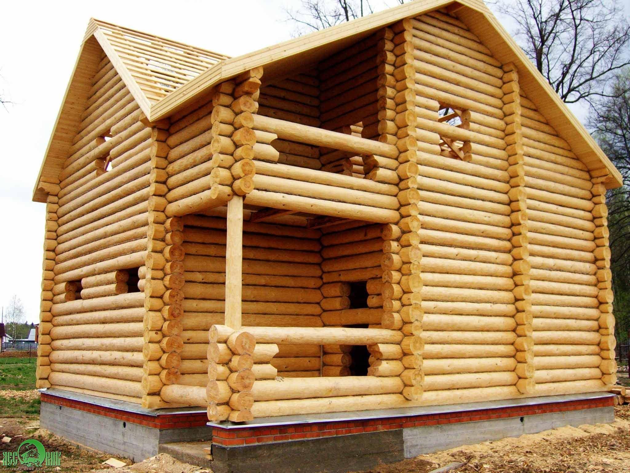 According to the law, each Russian citizen relies on 150 cubic meters of forest FREE for building a house every 25 years and another 50 cubic meters of forest every 5 years for home repairs